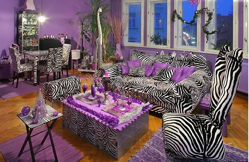 Purple-zebra