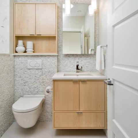 White Modern Bathroom