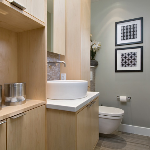 Small Modern Ensuite