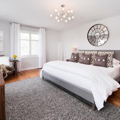 Modern Master Bedroom Ottawa